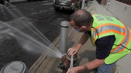 NYC cools streets as temperatures rise