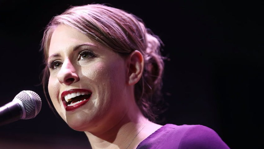 Former congresswoman Katie Hill wants to see her husband prosecuted for cyber exploitation and is seeking 'redemption' after her relationship with a campaign staffer