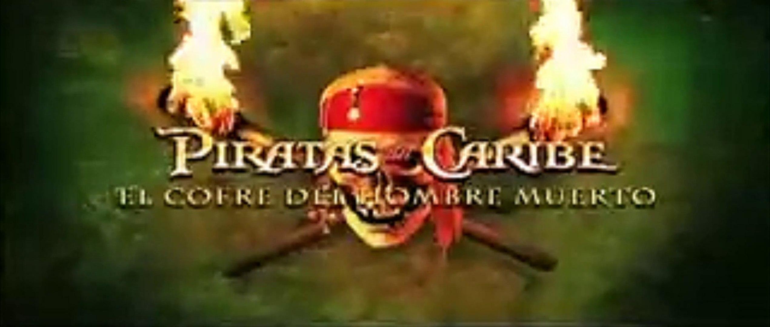Piratas Del Caribe El Cofre Del Hombre Muerto 2006 Trailer Spanish Vidéo Dailymotion