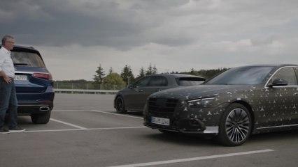 """Meet the S-Class DIGITAL - """"Innovation by Intelligence"""" - Disfrutar al volante al más alto nivel con asistencia y protección"""