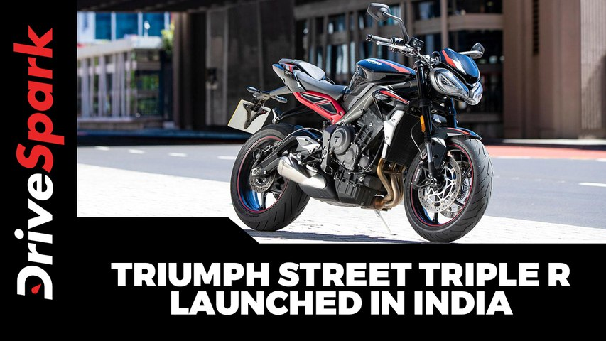 Triumph Street Triple R Launched In India