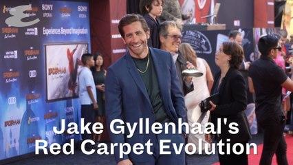 Jake Gyllenhall's red carpet evolution