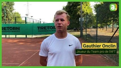 VIDÉO | Gauthier Onclin, 19 ans, futur crack du tennis belge? «Ce n'est pas du tout comme ça que j'ai envie qu'on parle de moi»
