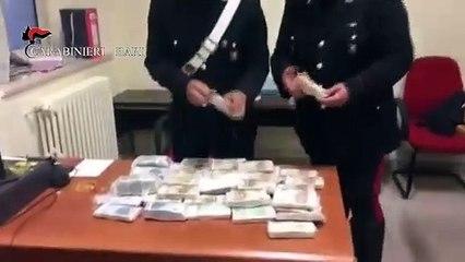 Bari: lancia 620mila euro in contanti dalla finestra, ma la notizia risale al 2015