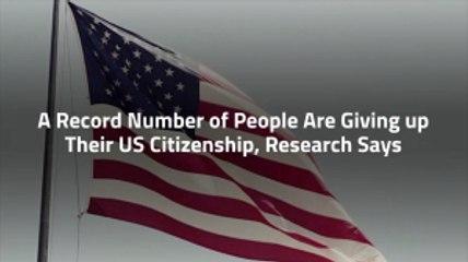 US Citizenship On Decline