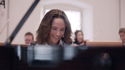 Hélène Grimaud - Mozart: Piano Concerto No. 20 in D Minor, K. 466: III. Rondo. Allegro assai (Cadenza Beethoven)