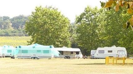 ✅  Quint-Fonsegrives. Des caravanes occupent illégalement l'espace pétanque loisirs
