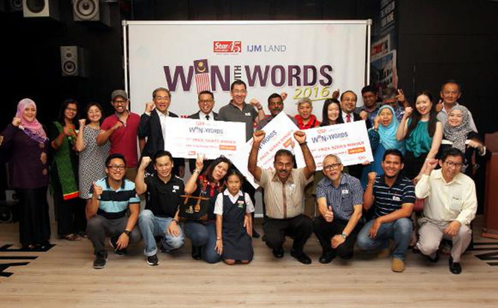 RM48,500 for Win With Words 2016 first series winners
