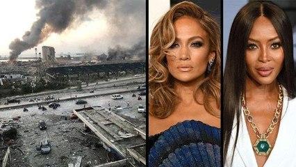مشاهير عالميين يتضامنون مع لبنان بعد انفجار بيروت