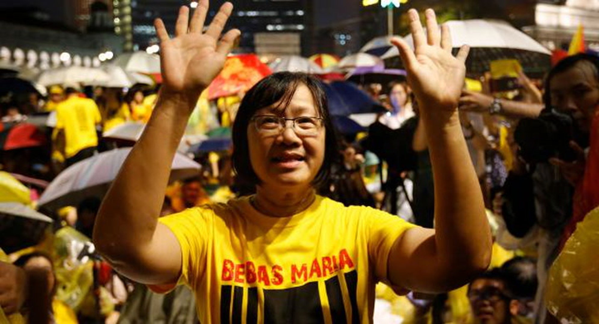 Maria: No link between Bersih and Soros