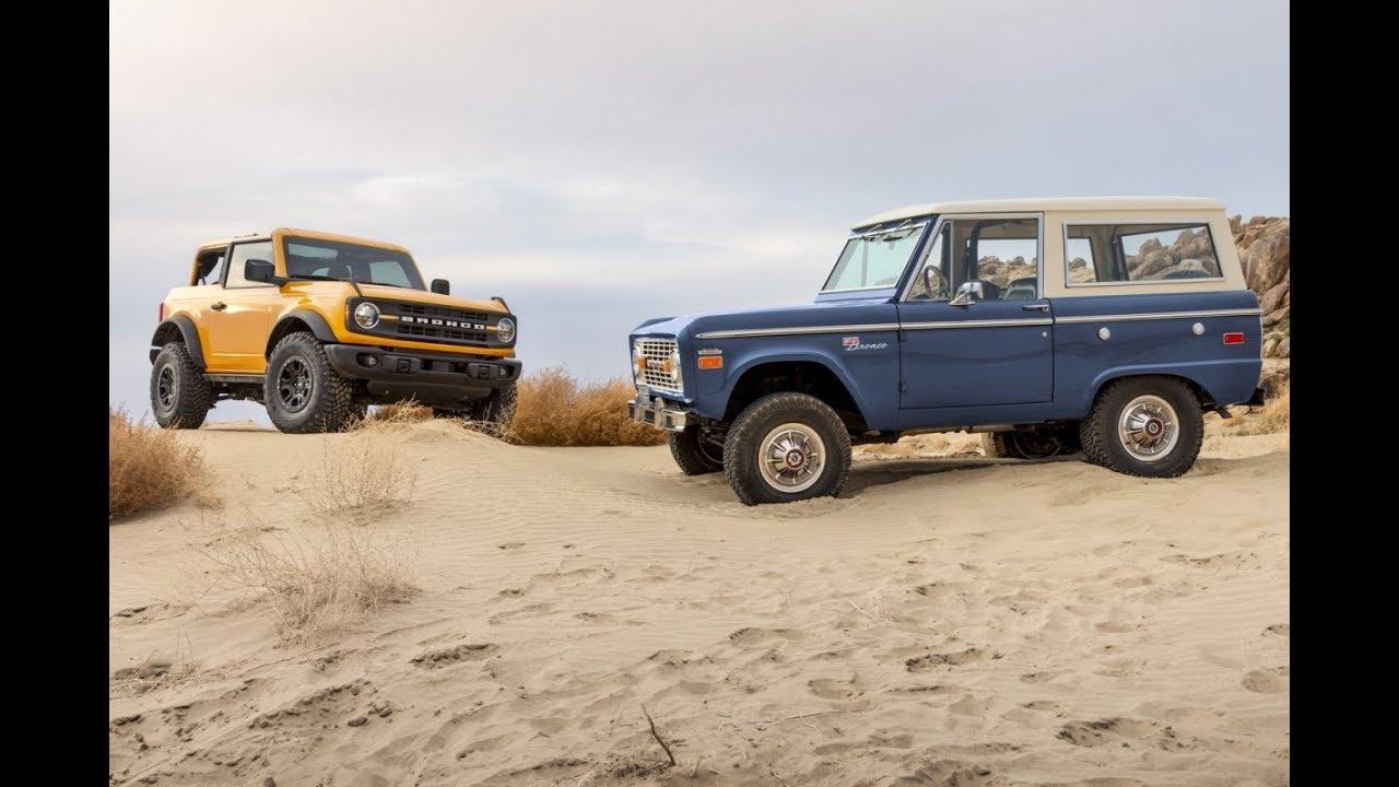Toute l'Amérique en pince pour le nouveau Ford Bronco