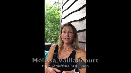 Mélissa Vaillancourt à propos de sa clientèle