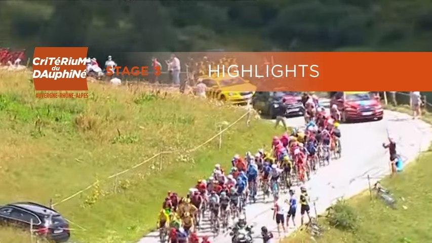 Critérium du Dauphiné 2020 - Stage 3 - Stage highlights