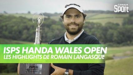 Golf - Wales Open : Premier titre pour Romain Langasque