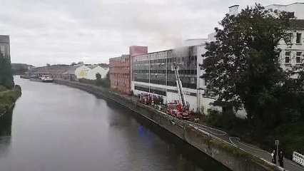 La Dorcas brûle à Tournai