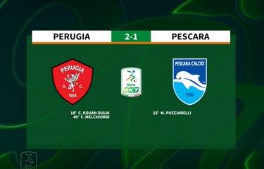 HIGHLIGHTS #PerugiaPescara 4-5 (dcr) #SerieBKT
