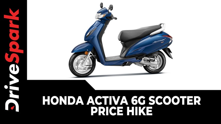 Honda Activa 6G Scooter Price Hike   Updated Price List & Other Details