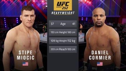 UFC 252: Miocic vs. Cormier 3 - UFC Heavyweight Title Match - CPU Prediction