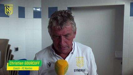 FC Nantes - Le Havre : la réaction de Christian Gourcuff