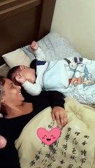 Como acorda um filho