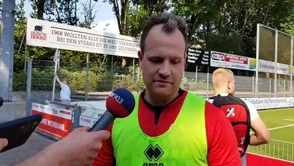 Jan Lüneburg im Interview nach dem Finaleinzug