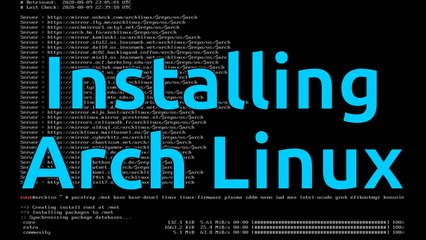 Installing Arch Linux
