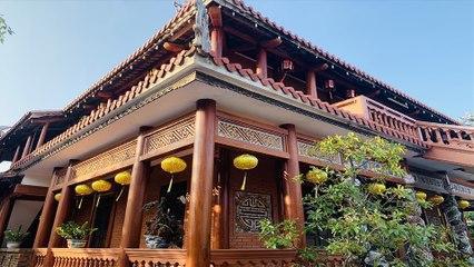Vẻ đẹp trầm mặc của chùa Phước Duyên   VTC