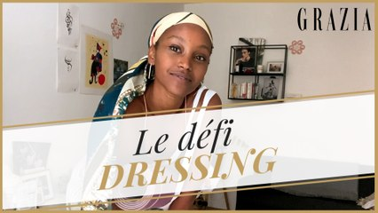Le foulard en 6 looks : Christelle Yabayisa relève le défi Grazia
