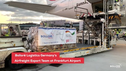 Bolloré Logistics Germany Continues to Support the Fight against Covid-19