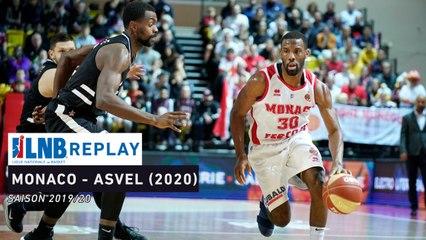 Replay : AS Monaco - LDLC Asvel (2020)