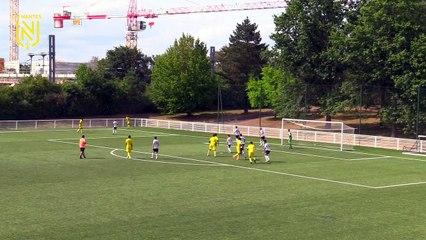 U17 - Amical : les buts de FC Nantes - Angers SCO