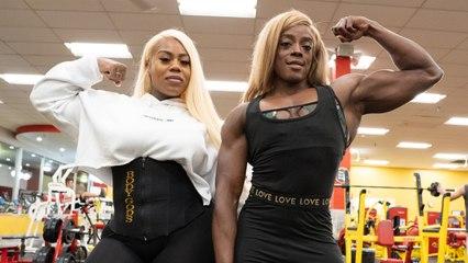Female Hulk V Muscle Queen