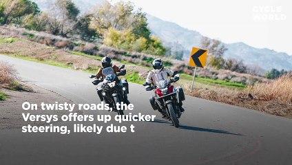 2020 Honda CB500X vs. Kawasaki Versys-X 300