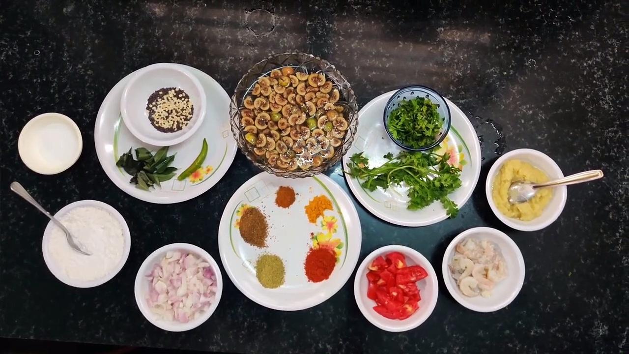 அத்திக்காய் இறால் மசாலா – Prawn masala – Fig prawn masala – prawn – iral masala – Fig – athikkai