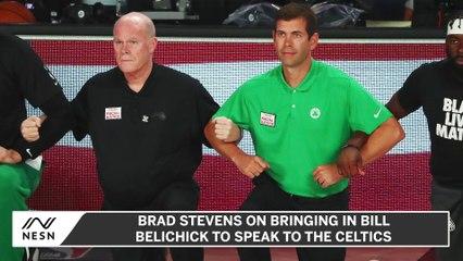 Brad Stevens Brought in Bill Belichick to Speak to the Celtics