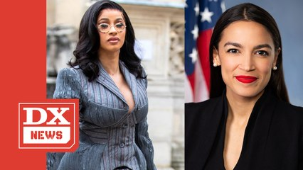 Cardi B Wants Alexandria Ocasio-Cortez To Run For President In 2024