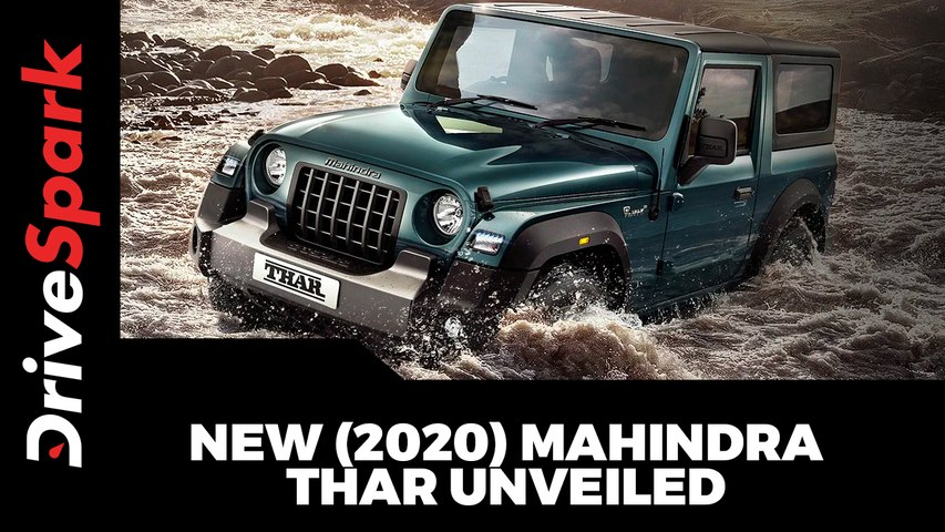 New (2020) Mahindra Thar Unveiled Specs, Features, Variants & Other Details