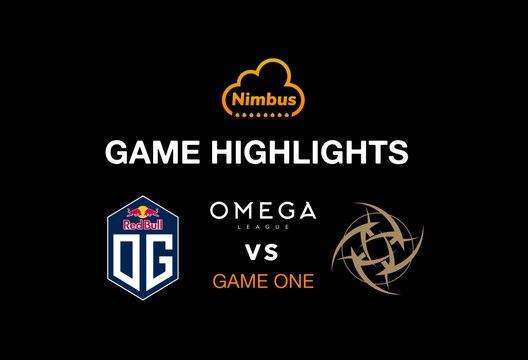 DOTA HIGHLIGHTS OG vs NIP_GAME 01
