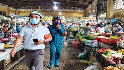 Nâng cao ý thức phòng dịch tại các chợ, trung tâm thương mại   VTC