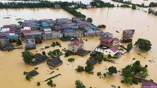 Hơn 60 triệu người Trung Quốc bị ảnh hưởng bởi mưa lũ   VTC