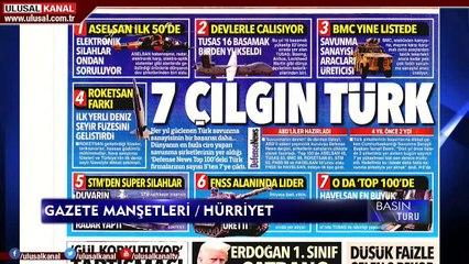 Basın Turu - 18 Ağustos 2020 - Buse Gençtürk - Ulusal Kanal