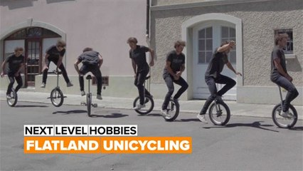 Next Level Hobbies: The King of Flatland Unicycling