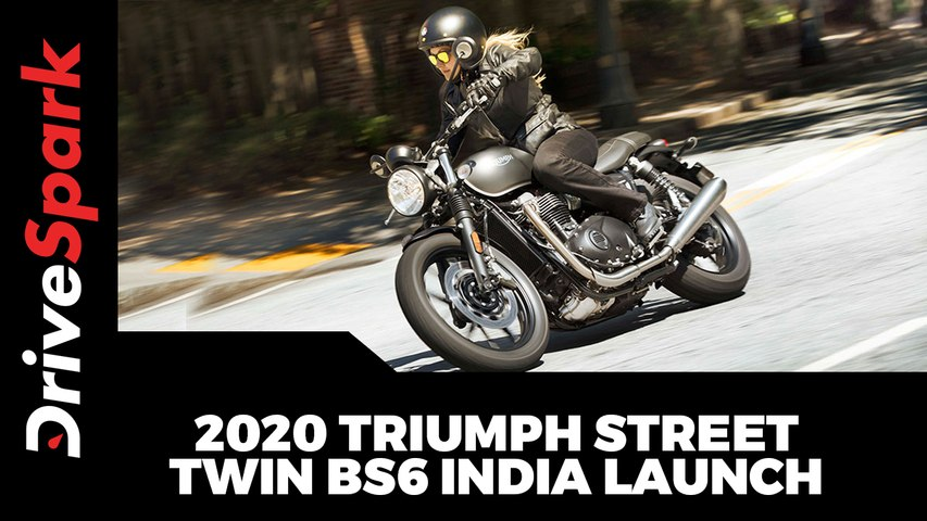 2020 Triumph Street Twin BS6 India Launch