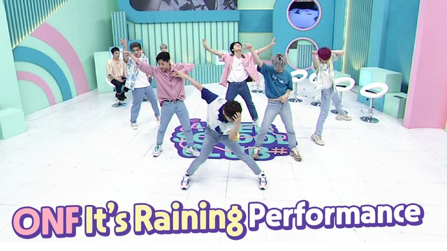 [After School Club] ONF's It's Raining performance (온앤오프의 'It's Raining' 퍼포먼스)