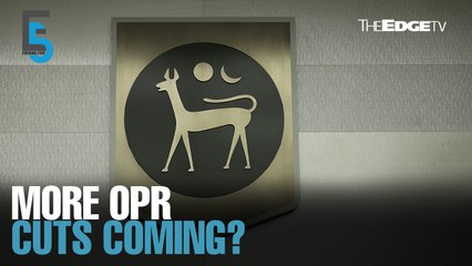 EVENING 5: More OPR cuts in the offing?