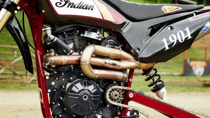 Indian Motorcycle Goes Hill Climb Racing