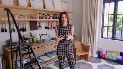 Kendall Jenner nous fait visiter sa nouvelle maison à Los Angeles
