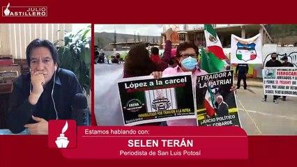 """#AstilleroInforma AMLO """"salva"""" a gobernador de Querétaro de preguntas de periodistas"""