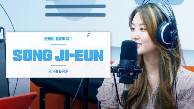 [Pops in Seoul] ♦︎Behind Radio Clip♦︎ Song Ji-eun(송지은)'s Interview~