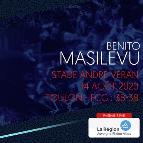 Video : Video - L'essai de Benito Masilevu face à Toulon, saison 2020-2021